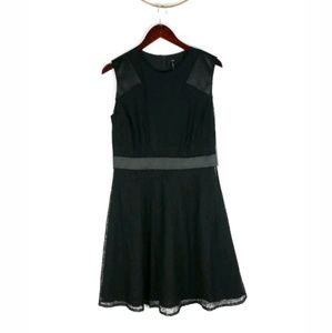 NWT Andrew Marc fit flare lace Astra dress